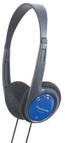 Koptelefoon Panasonic RP-HT 010 E-A blauw