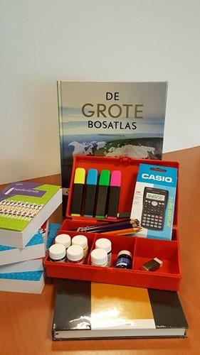 COMPLEET PAKKET HEERBEECK MET WOORDENBOEKEN EN BOSATLAS HAVO(1H)