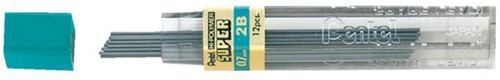 POTLOODSTIFT PENTEL 0.7MM 2B 12 STUK