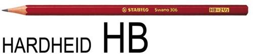 POTLOOD STABILO SWANO HB 1 STUK