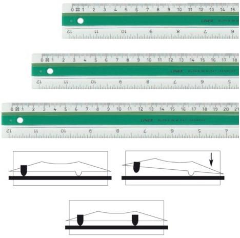 LINIAAL LINEX SUPER S40 40CM 1 STUK
